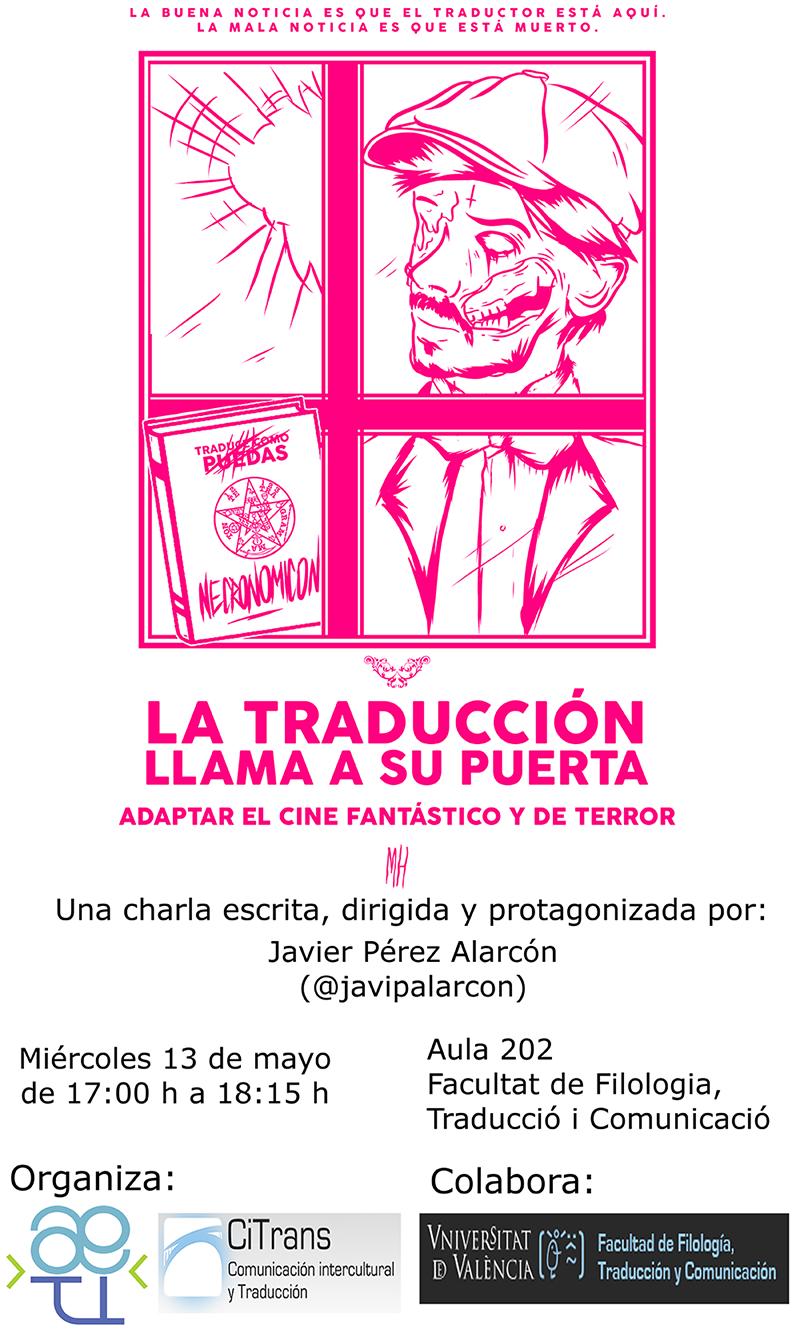 poster traducción terror