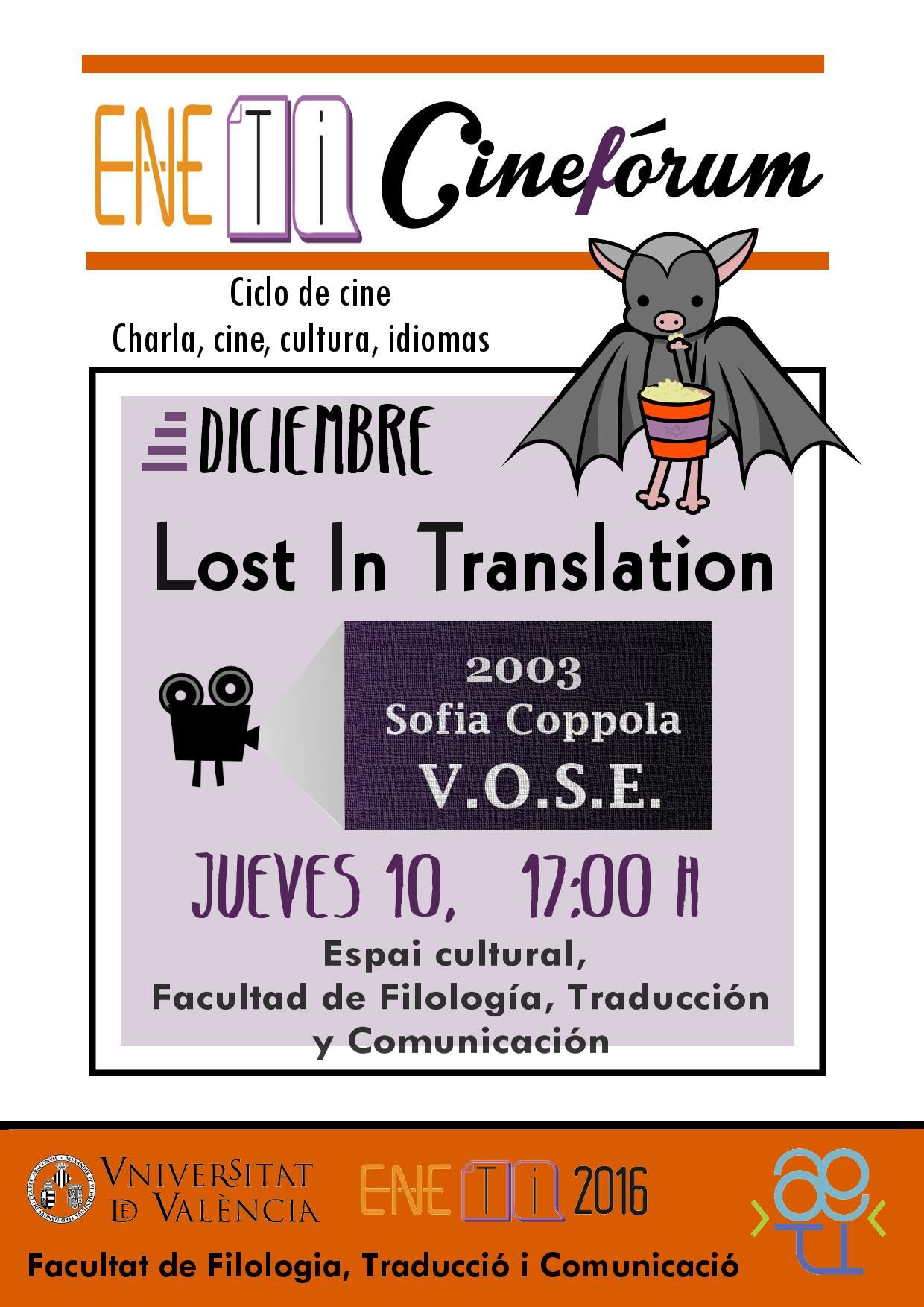 Cineforum Eneti: Lost in Translation